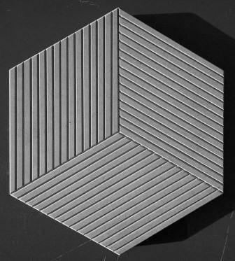 Формы глянцевые для тротуарной плитки Шестигранник-Ромб пластик АБС, фото 2