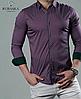 Рубашка  мужская на кнопках, с принтом