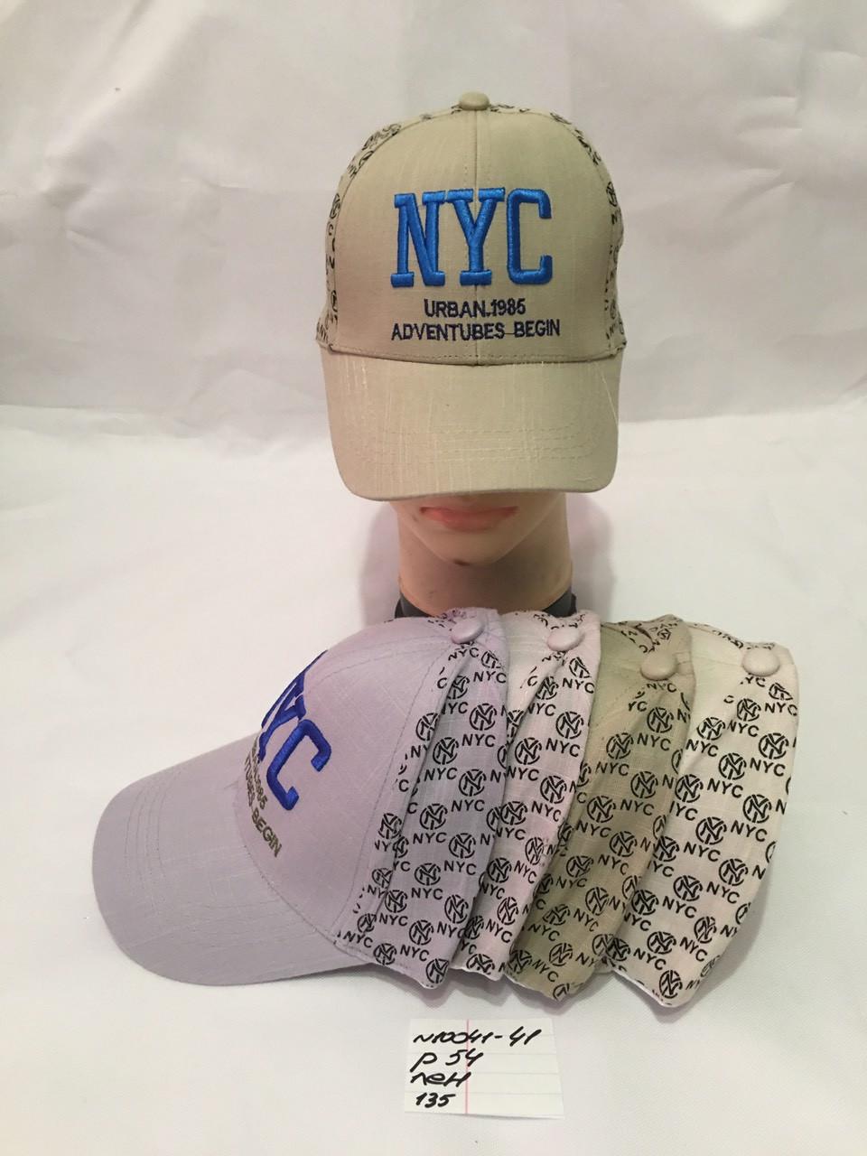 Річна стильна дитяча кепка для хлопчика р. 54 льон