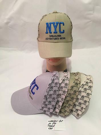 Летняя стильная детская кепка для мальчика р.54 лен, фото 2