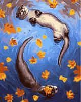 Картины по номерам 40×50 см. Цветной всплеск Художник Джоанна Таркела