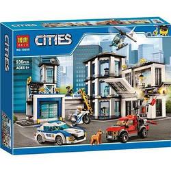 Конструктор Bela 10660 City Сіті Поліцейський ділянку, 936 деталей (аналог Lego City 60141)