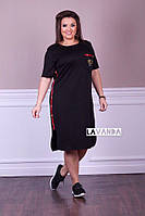 Чёрное спортивное платье ботал, фото 1
