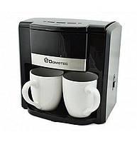 Кофеварка Domotec Ms-0708 с двумя чашками, 500Вт, фото 1