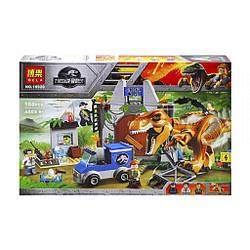 "Конструктор Bela 10920 ""Побег Ти-Рекса"" 168 деталей. Аналог Lego Juniors Jurassic World 10758"