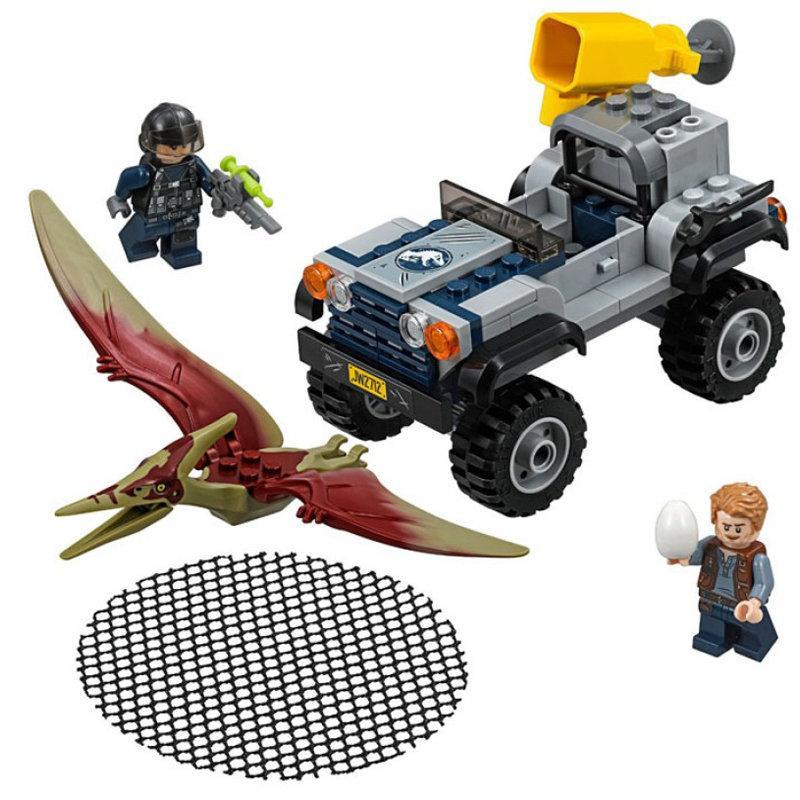 Конструктор Bela 10921 Dinosaurs Динозавры Погоня за птеранодоном 138 деталей