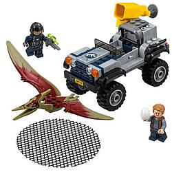 Конструктор Bela 10921 Погоня за птеранодоном 138 деталей. Аналог Lego Jurassic World 7592