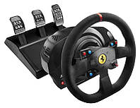 Thrustmaster Кермо і педалі для PC/PS4®/PS3® T300 Ferrari Integral RW Alcantara edition