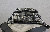 Сумка бананка (поясная сумка) с ремнём Пиксель (503-acupat), фото 3