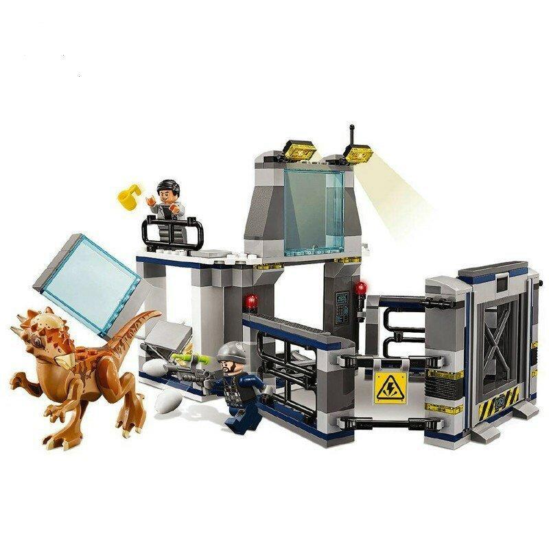 Конструктор Bela 10922 Jurassic World Парк Юрского Периода Побег стигимолоха из лаборатории 234 детали