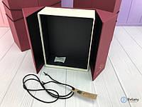 Подарок для девушки с дверцами на завязке шикарный подарок на 8 марта оригинальный подарок набор 3 шт
