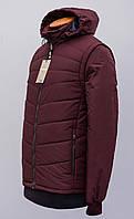"""Разборная куртка-жилет со съемными рукавами и капюшоном """"Napapijri""""2019 Replica"""