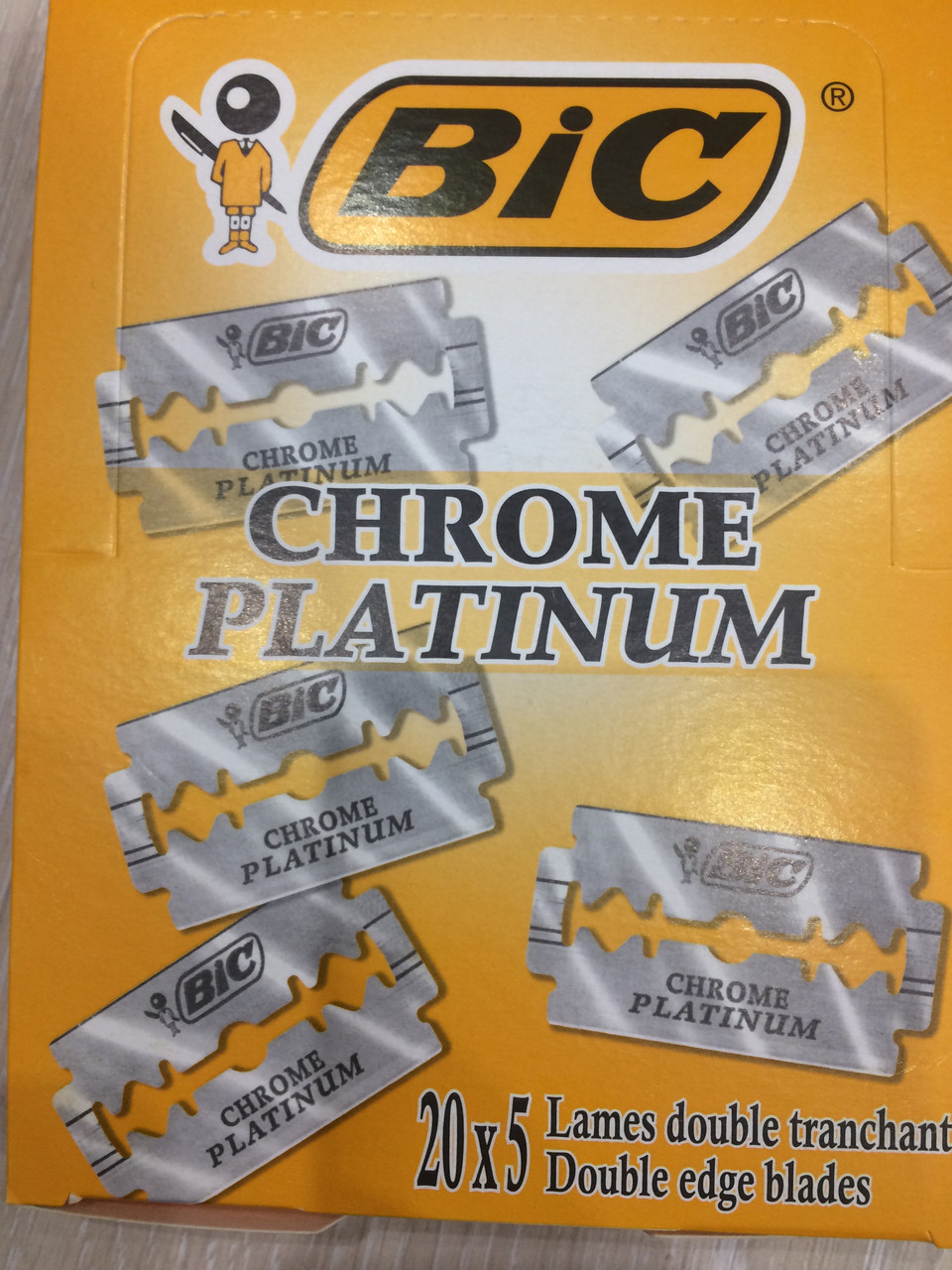 Лезвия BIG Chrome Platinum