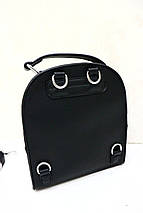 Модный кожаный рюкзак-сумка «1067 », фото 3