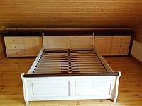 Кровать из массива дуба,ясеня,ольхи,сосны в Харькове