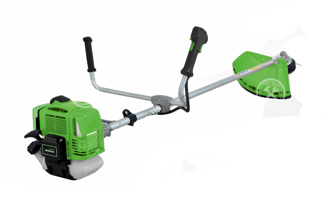 Мощная мотокоса с бензиновым двигателем Grunhelm GR - 43M, Газонокосилка-триммер бензиновая для травы