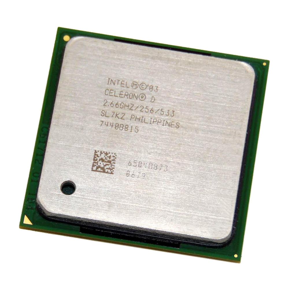 Процессор Intel Celeron 2.66Ghz/256/533 (SL7KZ) s478, tray