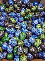 Пасхальные деревянные яйца писанки