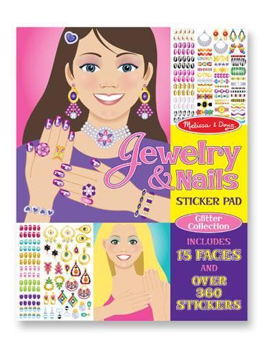 Набор наклеек Ювелирные изделия и маникюр Melissa&Doug (MD4223)