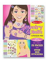 Набор наклеек Ювелирные изделия и маникюр Melissa&Doug (MD4223), фото 1