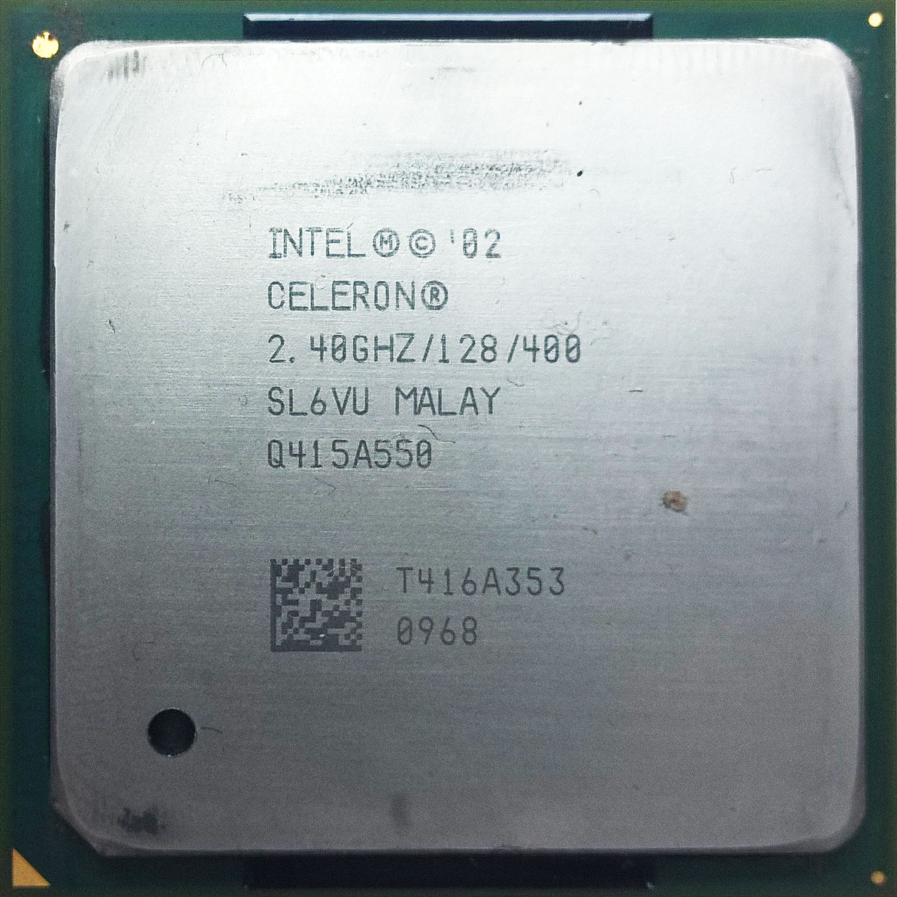 Процессор Intel Celeron 2.40Ghz/128/400 (SL6VU) s478, tray