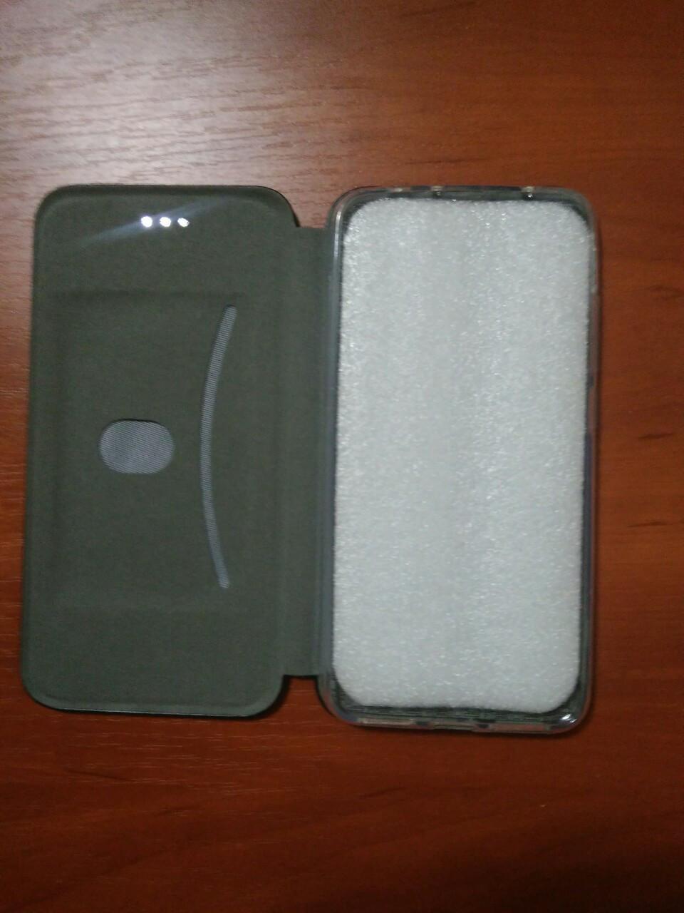 Чехол- книга Premium для Samsung S 10 Plus  (черный)