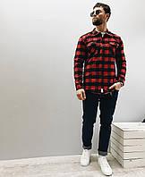 9e0244d7c4d Мужская Рубашка в Красную Клетку — Купить Недорого у Проверенных ...