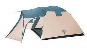 Туристическая палатка 5-ти местная. 2-х слойная  BestWay 68015 Hogan