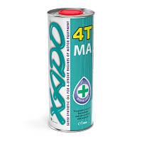 Синтетическое масло для 4-х тактных двигателей мототехники XADO Atomic Oil 10W-40 4T MA SuperSynthetic 1л