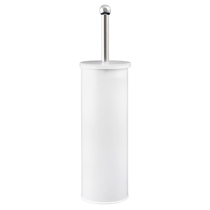 Ершик для унитаза металлический белый AWD02021444