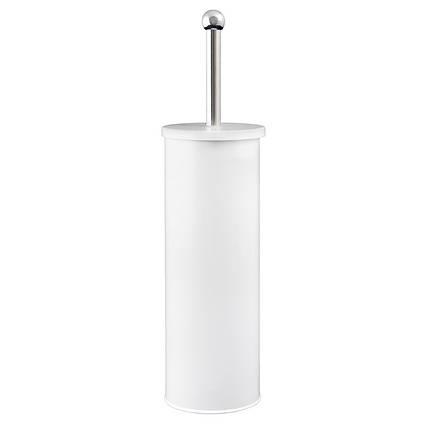 Йоршик для унітазу металевий білий AWD02021444