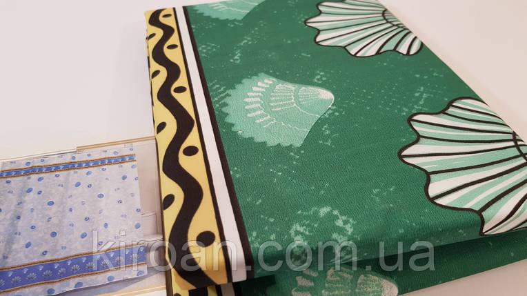 Штора для ванни/душа Міранда (Зелені черепашки) MUSSEL, фото 2
