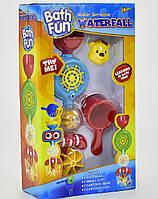 Игрушка для веселого купания малышей Водопад 9907 на присоске с крутящимися элементами