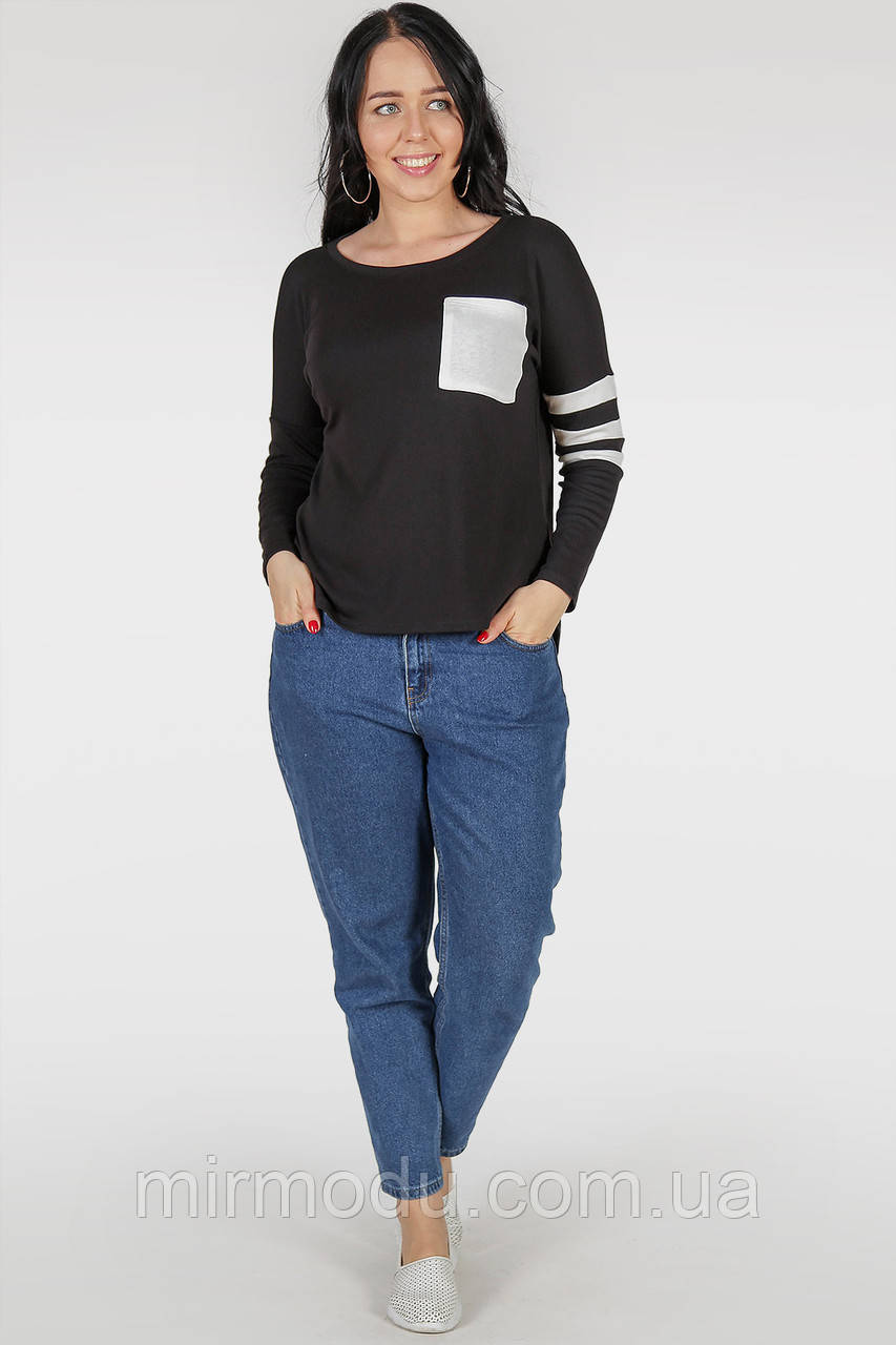 Батальный свитшот  черного цвета с 48 по 62 размер(3 цвета)(wln)