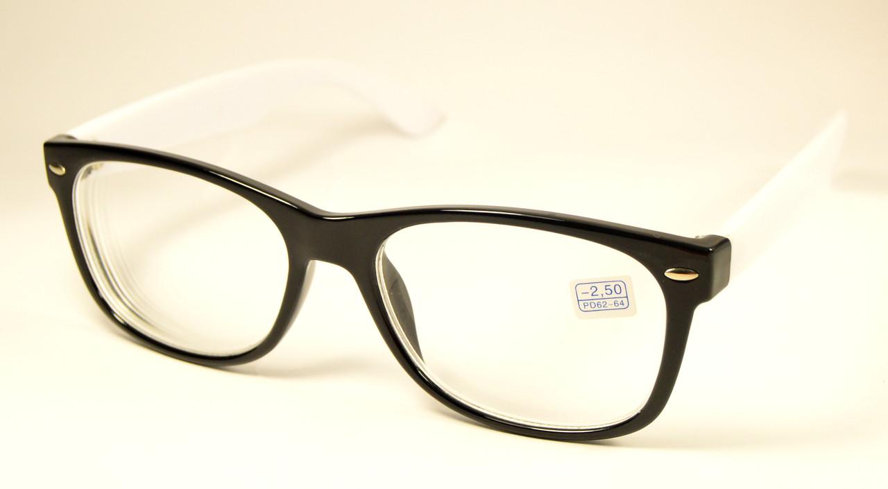 Wayfarer очки для зрения (МС 284 ч-б)