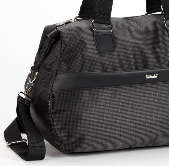 Дорожная сумка чёрного цвета