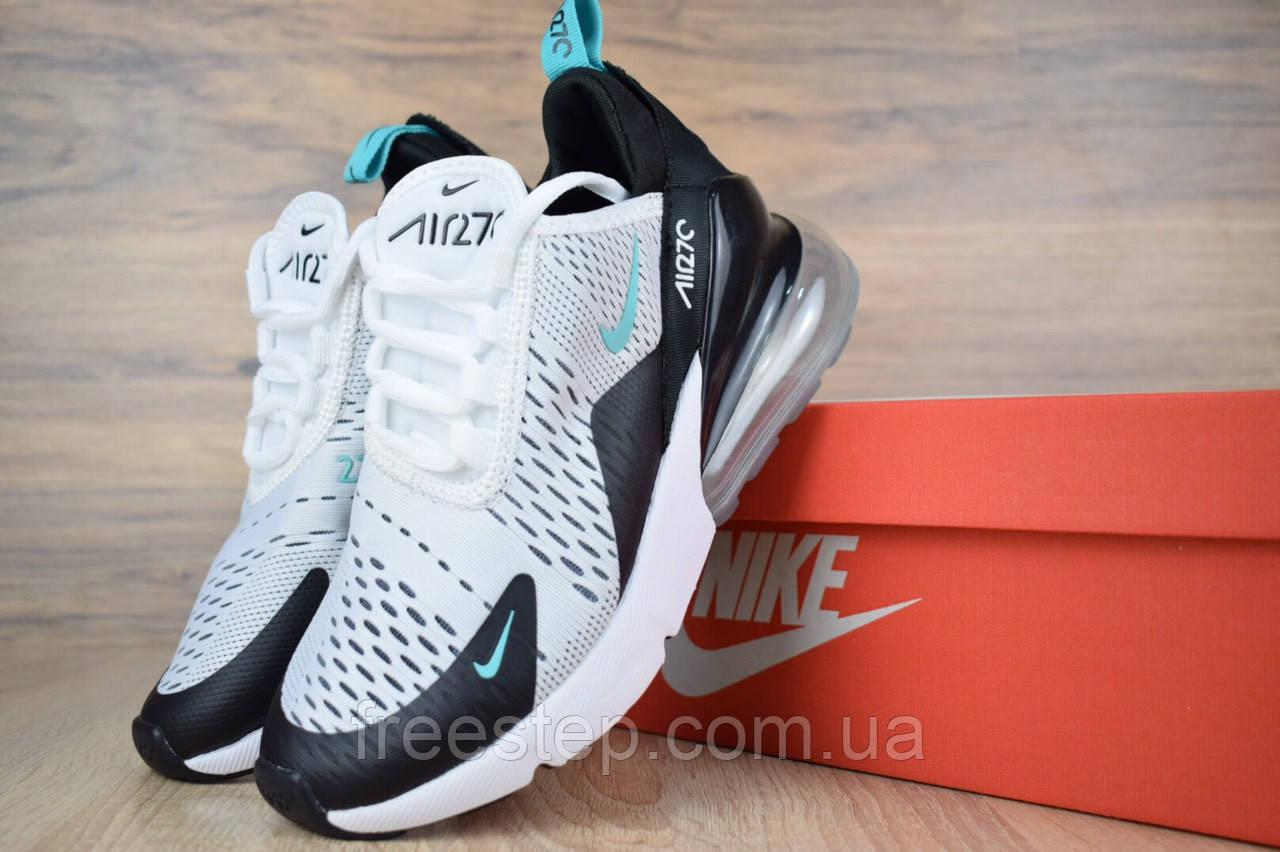 a2fc68ca Женские кроссовки в стиле Nike Air Max 270, черные с белым ,, фото 1