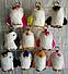 Брелок Меховой Пингвин (14 см) натуральный мех (кролик), фото 8