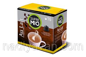 Кофе в капсулах SUPREMIO Аu Lait 16шт, 160г., фото 2
