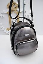 Бронзовый рюкзак-сумка «464» , фото 3