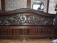 Кровать резная из массива дуба,ясеня,сосны,ольхи на заказ в Харькове
