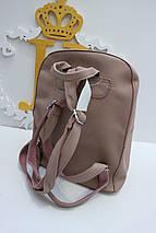 Женский розовый мини-рюкзак «3639» , фото 3