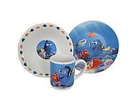 Набор детской посуды 3 предмета Немо    NEA 22  6911100000