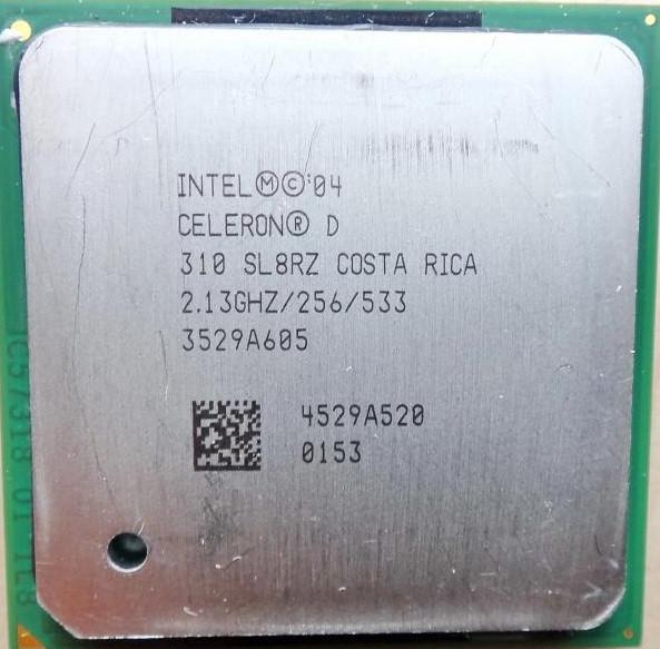 Процессор Intel Celeron 310 2.13GHz/256/533 (SL8RZ) s478, tray