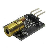 Лазерный модуль для Arduino 650nm 6mm 3V 5mW КРАСНЫЙ
