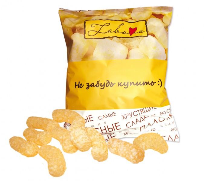 """Изделия кукурузные воздушные """"ЗАБАВА"""" 160г из Беларуси"""