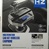 Автомобильный FM-модулятор HZ HER8+Bluetooth