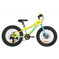 Детский велосипед Optimabikes 20 PALADIN DD рама-11 2019 желто-синий (OPS-OP-20-007)
