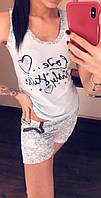 Пижама женская из хлопка, фото 1