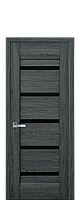 Межкомнатные двери Лира Дуб графит